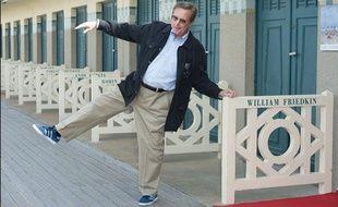 Le réalisateur américain William Friedkin, au Festival du film américain de Deauville, le 9 février 2012.