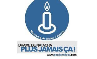 Capture d'écran de la page d'acueil du site plusjamaisca.com, lancé par les proches de Natacha, la joggeuse tuée en septembre 2010.