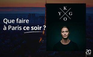 Kygo sera au Zénith ce soir.