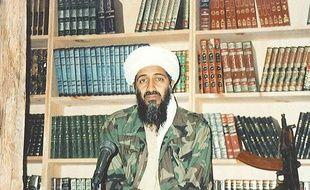 Ben Laden dans les montagnes afghanes en 1996