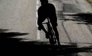 Illustration d'un cycliste