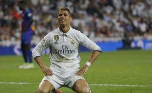Cristiano Ronaldo lors du Clasico, le 23 avril 2017.