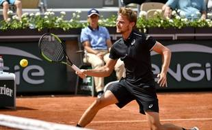 David Goffin, dans ses oeuvres
