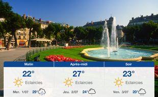 Météo Grenoble: Prévisions du mardi 30 juin 2020