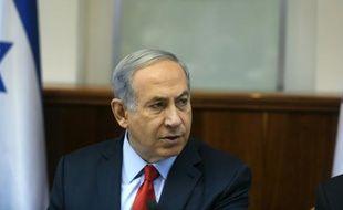 Le Premier ministre israélien Benjamin Netanyahu à Jérusalem le 28 juin 2015