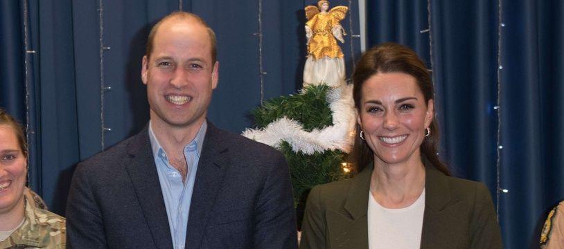 Le duc et la duchesse de Cambridge en visite à l'Akrotiri de la Royal Air Force à Chypre.