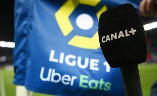 La LFP et Canal + ont trouvé un accord pour la diffusion de la fin de la saison de Ligue 1 2020-2021, le 4 février 2021. .