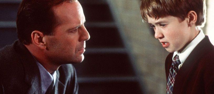 Extrait du film «Sixième sens» avec Haley Joel Osment et Bruce Willis