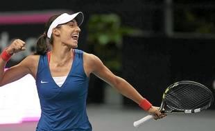 En 2014, Caroline Garcia a remporté son premier tournoi et intégré le Top 50.