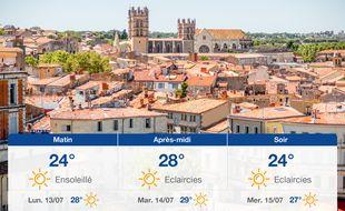 Météo Montpellier: Prévisions du dimanche 12 juillet 2020