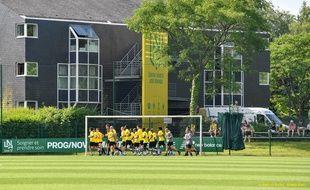 La Jonelière, centre d'entraînement du FC Nantes.