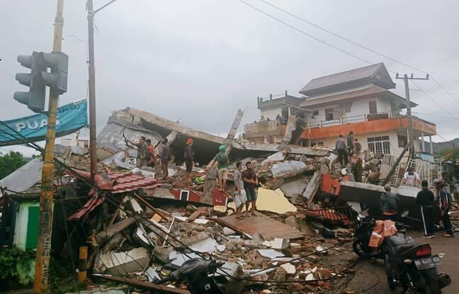 648x415 nombreux batiments effondres ile celebes indonesie apres seisme magnitude 62 15 janvier 2021