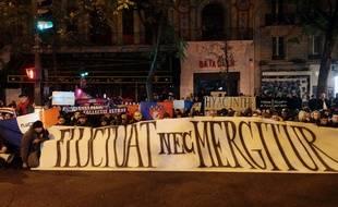 Les ultras du PSG sont venus rendre hommage aux victimes du Bataclan le 13 novembre 2016.