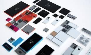 Motorola a dévoilé son «Project Ara», un concept de smartphone modulaire le 29 octobre 2013.