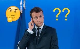 Emmanuel Macron - montage 20 Minutes.