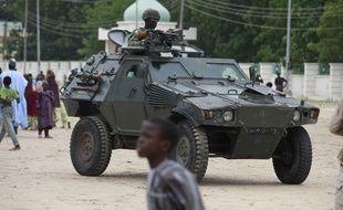 Photo prise en 2013 d'un soldat nigérian. Nigeria