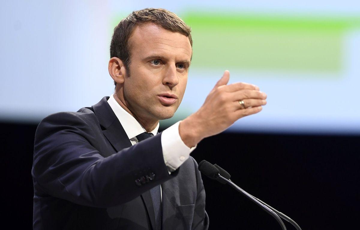 Emmanuel Macron le 1er juillet 2017 à Rennes à l'occasion de l'inauguration de la ligne LGV. – AFP