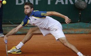 Gilles Simon à Roland-Garros le 31 mai 2013.