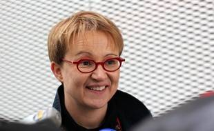 La maire de Rennes Nathalie Appéré, ici en 2016.