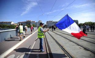 Une manifestation de gilets jaunes à Lyon en décembre dernier. (illustration)