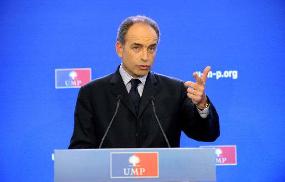 Jean-François Copé, secrétaire général de l'UMP, le 13 juin 2012 à Paris. – WITT/SIPA