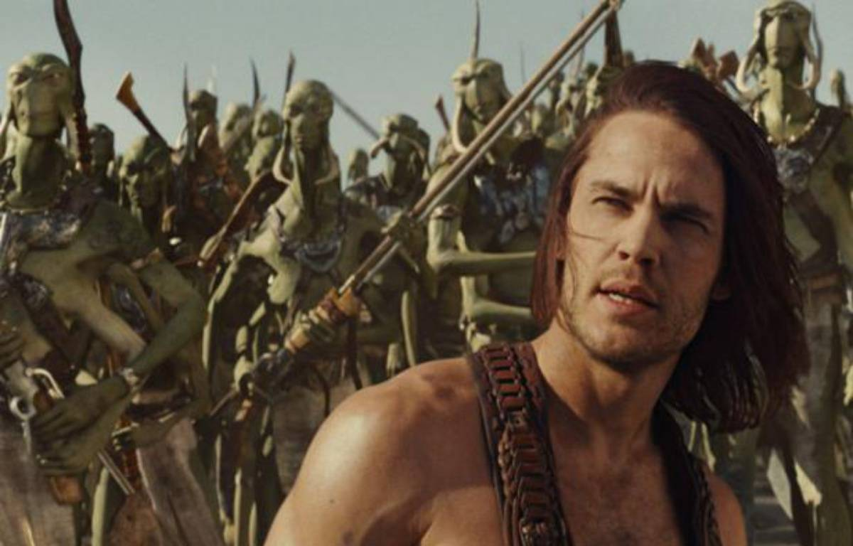 L'intrigue de John Carter se déroule sur la planète Mars.  – The Walt Disney Company France