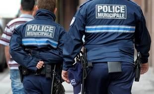 Les voleurs étaient déguisés en policiers municipaux (Illustration).
