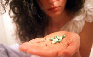 Des antidépresseurs (illustration)