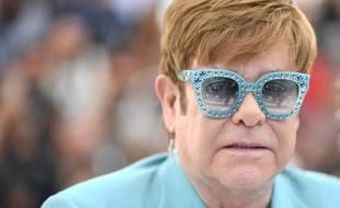 Elton John au Festival de Cannes 2019.