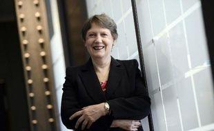 Helen Clark, administratrice du PNUD, le 1er juin 2015 à Paris
