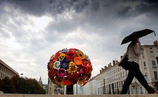Le Flower Tree, installé place Antonin Poncet depuis 2007 à Lyon.