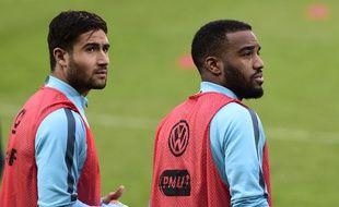 Si Nabil Fekir et Alexandre Lacazette semblaient représenter l'avenir des Bleus il y a tout juste un an, avant d'affronter le Danemark à Saint-Etienne, ils devraient manquer l'Euro.