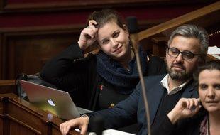 Mathilde Panot, aux côtés d'Alexis Corbières, est députée du Val-de-Marne depuis juin 2017.