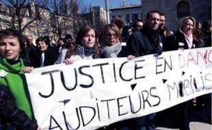 Les élèves de l'ENM ont manifesté, hier, pour dénoncer la réforme judiciaire