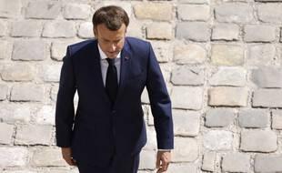Le président de la République, Emmanuel Macron.
