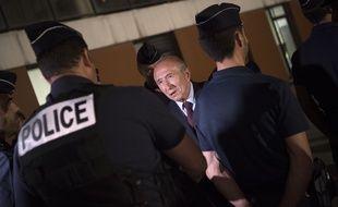 Le ministre de l'Intérieur Gérard Collomb le 24 mai 2018 à Marseille.