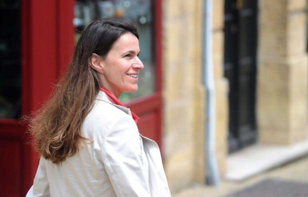 La ministre de la Culture, Aurélie Filippetti, en campagne dans sa circonscription de Moselle en 2012. – © POL EMILE / SIPA