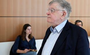 L'ancien dirigeant de France Telecom Didier Lombard au tribunal de Paris, le 11 juillet 2019.