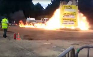 La spectaculaire explosion s'est produite lors du carnaval de Villepinte.