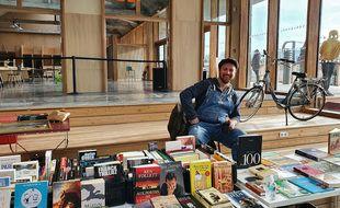 Fernando Sanchez, fondateur de Bicloubook à Lille.