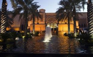 Le palais Erga à Ryad, un lieu de rencontres diplomatiques de haut niveau du royaume saoudien.