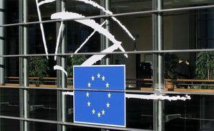 Le Parlement européen à Bruxelles, le 30 novembre 2011.