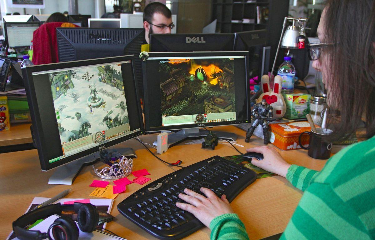 Roubaix. Les bureaux du concepteur de jeux video Ankama. – M.Libert/20 Minutes