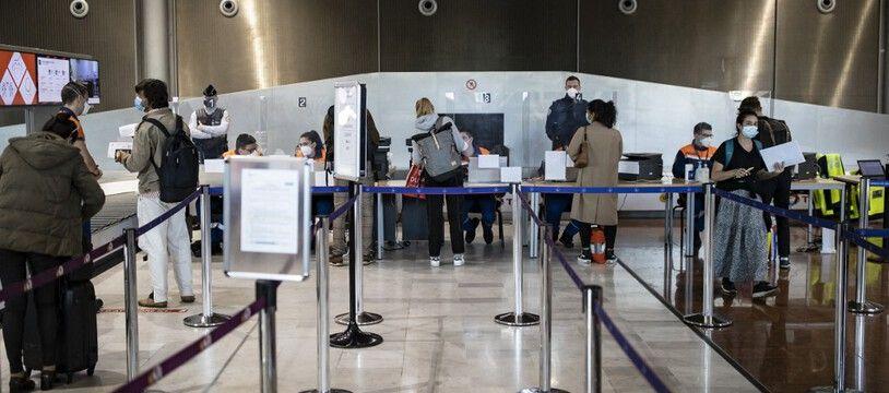 Des contrôles à l'aéroport de Roissy. (illustration)