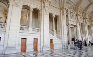 Illustration du palais de justice de Paris.