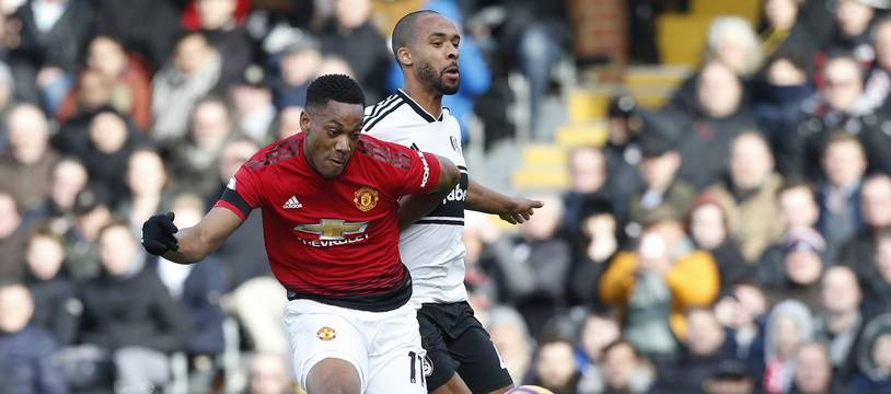 Anthony Martial, avec Manchester United