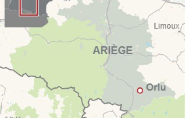 La commune d'Orlu, en Ariège.
