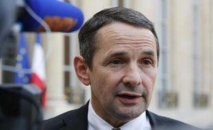 Thierry Mandon, secrétaire d'État à la Réforme de l'État, le 30 octobre 2014 à Paris