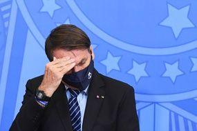Jair Bolsonaro, en mars 2021.