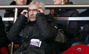 L'ancien sélectionneur de l'équipe de France, Raymond Domenech, lors d'un match au Parc des Princes, le 11 janvier 2013.